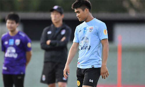 Chamratsamee mong lọt vào danh sách 23 cầu thủ.