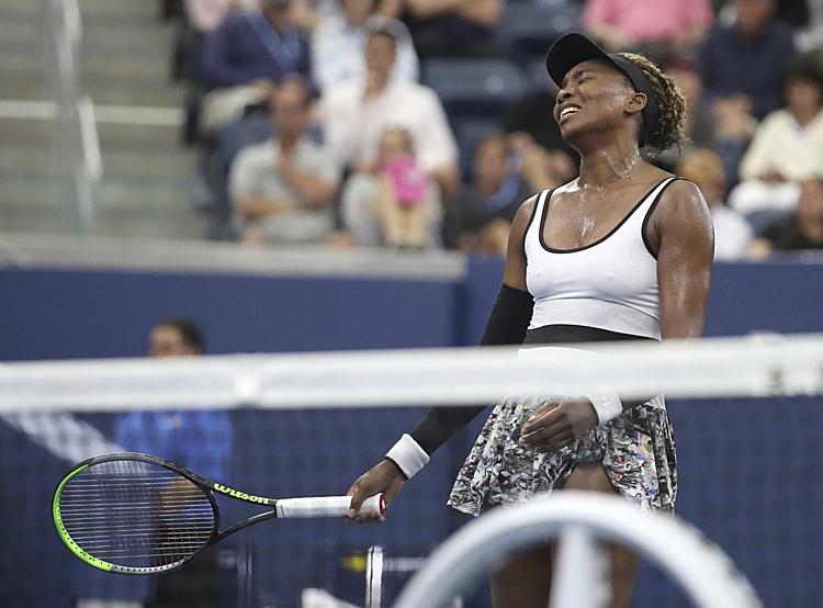 Ở tuổi 39, Venus đang ở bên kia sườn dốc sự nghiệp. Ảnh: AP.