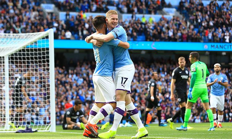 De Bruyne đã tham gia trực tiếp vào 6 bàn thắng của Man City trong bốn trận đầu Ngoại hạng Anh mùa này, với 5 đường kiến tạo thành bàn và một bàn thắng.