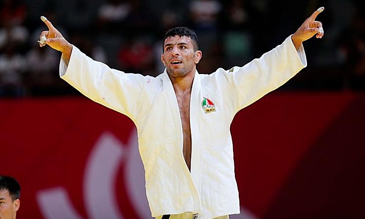 Mollaei là võ sĩ giàu thành tích của Iran, từng đoạt HC bạc châu Á 2017, HC bạc Asiad 2018, và vô địch thế giới 2018. Ảnh: Iran Press.