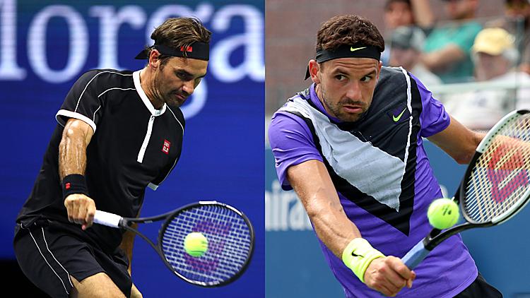 Federer chưa từng thua Dimitrov, người cũng có lối đánh trái một tay tương tự