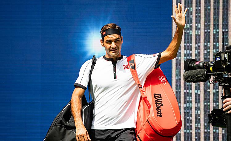 Nhánh đấu của Federer dễ thở hơn sau khi Djokovic bị loại. Ảnh: Tennis Head.