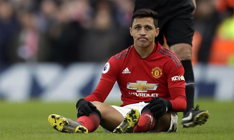 Alexis Sanchez trải qua một mùa rưỡi thất vọng ở Man Utd, trước khi sang Inter hè này. Ảnh: AP.