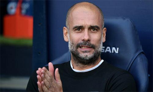 Guardiola đã có nguồn cầu thủ trẻ để chuẩn bị cho tương lai của Man City. Ảnh: Reuters