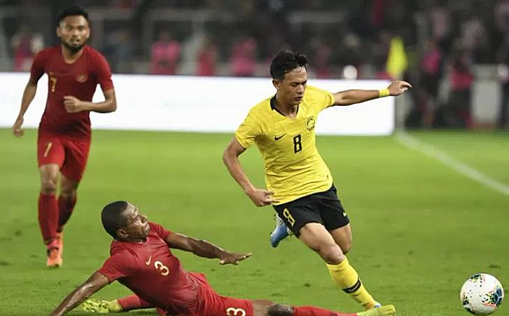 Trận đấu chứng kiến nhiều pha bóng căng thẳng quá mức cần thiết của hai đội. Ảnh: Antara News.