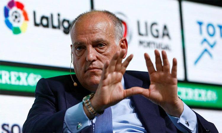 Javier Tebas không đánh giá cao khả năng Neymar trở lại La Liga.