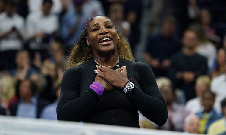 Serenatrở lại chung kết Mỹ Mở rộng khi đã ở tuổi 37. Ảnh: AFP