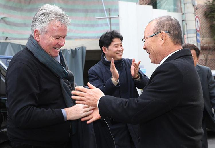 HLV Park Hang-seo cho biết học được rất nhiều khi làm trợ lý cho ông Guus Hiddink.