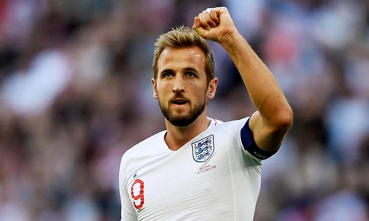 Kane đã ghi 25 bàn trong 40 trận cho đội tuyển Anh. Ảnh: Reuters.