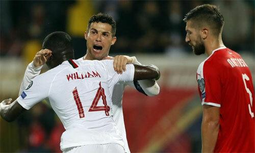 Bồ Đào Nha có bước tiến quan trọng ở vòng loại.