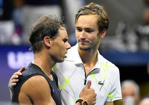 Nadal và Medvedev tạo nên trận chung kết Mỹ Mở rộng hay bậc nhất lịch sử. Ảnh: USA Today.