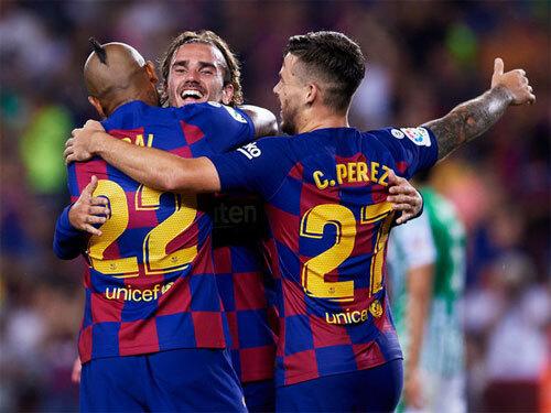 Griezmann đang hòa nhập với Barca.