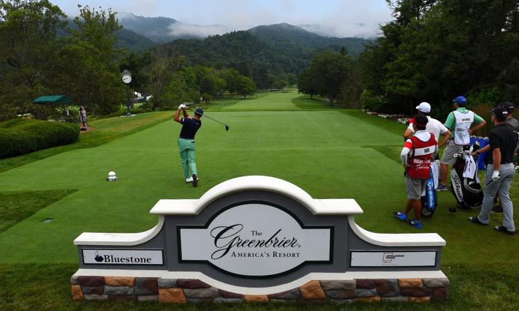 Mùa giải mới sẽ khởi tranh ở The Greenbier. Ảnh: Greenbrier Classic.