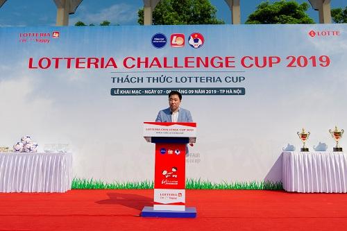 Giải bóng đá thiếu nhi Lotteria Cup 2019 khai mạc - 1
