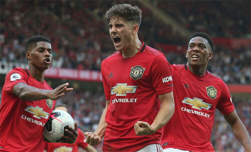 Man Utd có nhiều cầu thủ trẻ tiềm năng. Ảnh: Reuters