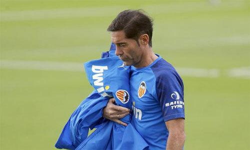 Marcelino ra đi khi Valencia chuẩn bị có một loạt trận đấu lớn. Ảnh: Marca
