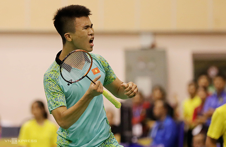 Tiến Minh thắng dễ tay vợt Pháp - ảnh 2