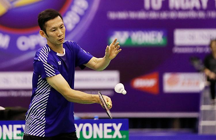 Tiến Minh thắng dễ tay vợt Pháp - ảnh 1