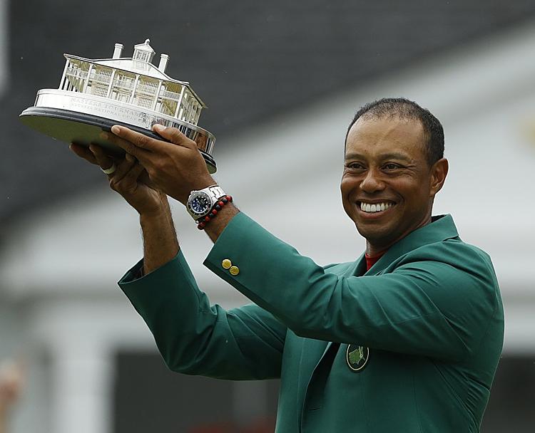 The Masters 2019 là danh hiệu major thứ 15 trong sự nghiệp của Woods. Ảnh: PGA Tour.