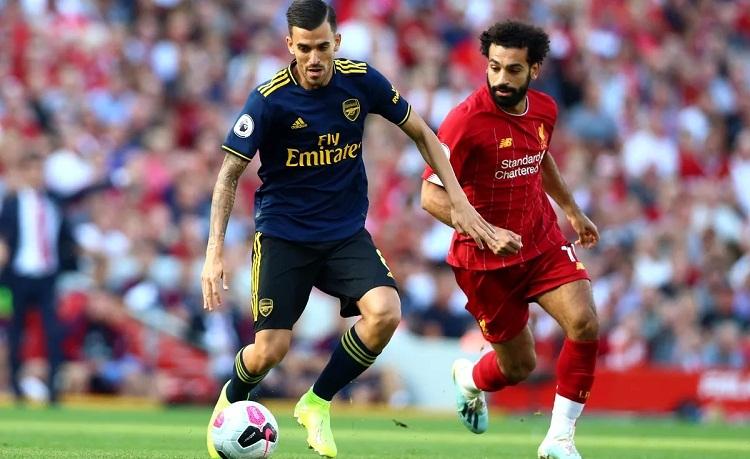 Ceballos choáng ngợp với lối đá của Liverpool. Ảnh: PA.