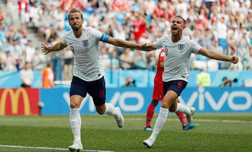 Kane và Henderson tỏa sáng tại World Cup 2018. Ảnh: Reuters