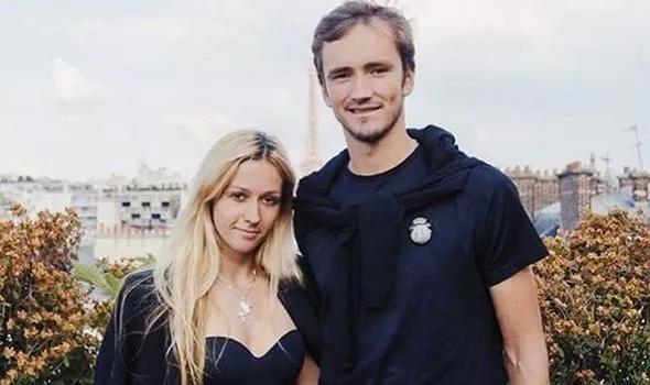 Medvedev và Daria kết hôn hồi tháng 9/2018, sau bốn năm yêu đương. Ảnh: Instagram.