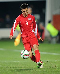 Kim Yu-song tại U20 World Cup 2015.