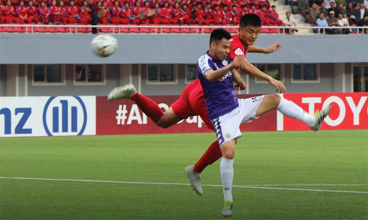Hà Nội không thể lọt đến chung kết tổng AFC Cup. Ảnh: Twitter / AFC Cup.