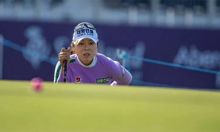 Hur Jung Mi nhắm đến mục tiêu đoạt hai Cup trong hai tuần liên tiếp khi tranh tài ở Texas tuần này. Ảnh: AP.