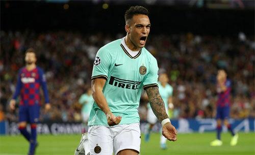 Lautaro Martinez đem lại khởi đầu hoàn hảo cho Inter. Ảnh: Reuters