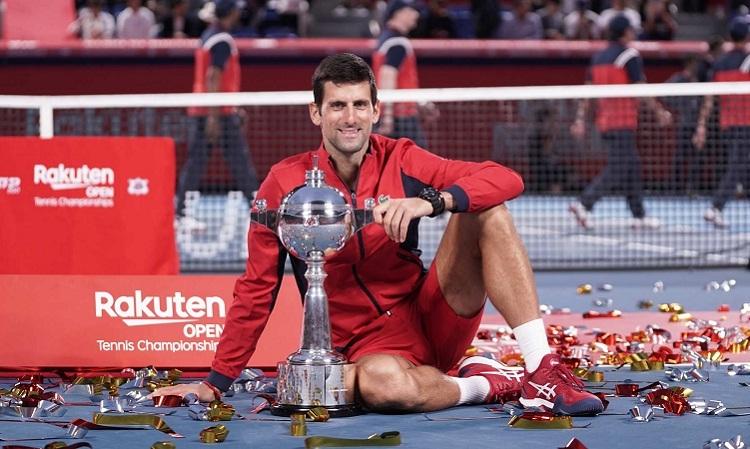 Djokovic không gặp nhiều khó khăn trên hành trình chinh phục danh hiệu ATP thứ 76 trong sự nghiệp. Ảnh: Atptour.com.
