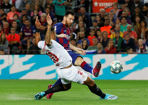 Barca khởi sắc sau khi Messi trở lại.