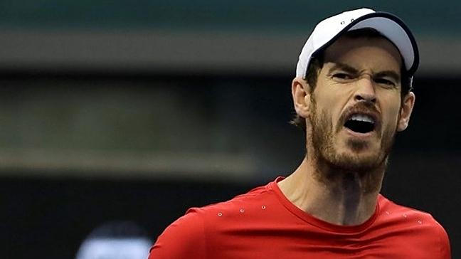 Murray lần đầu dự Thượng Hải Masters sau khi lên ngôi tại đây năm 2016. Ảnh: AP.