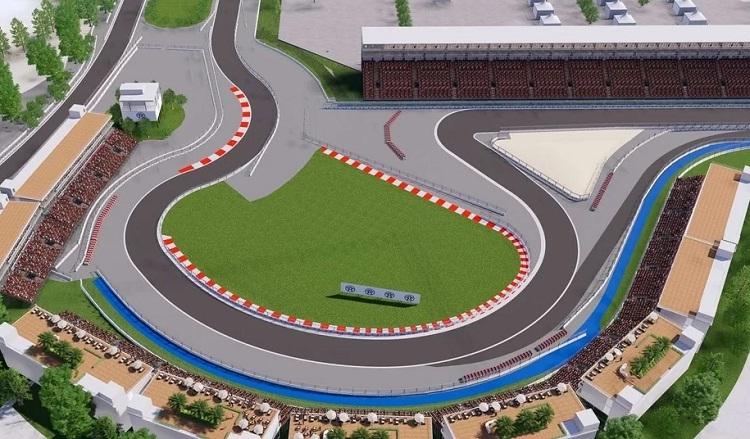 Grand Prix Việt Nam đặt tên góc cua theo địa danh trong nước