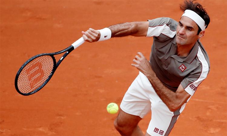 Federer sẽ hy sinh một số giải đấu trước thềm Roland Garros để tập trung cho mục tiêu chinh phục Grand Slam đất nện. Ảnh: Reuters.