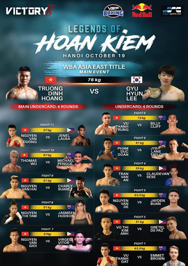 Hôm nay Trương Đình Hoàng tranh đai WBA Đông Á - ảnh 2