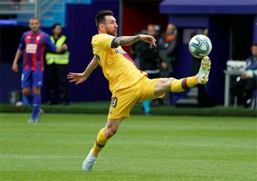 Messi đang lấy lại phong độ tốt nhất. Ảnh: Reuters