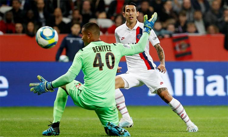 Mbappe lập cú đúp ngay đầu trận. Ảnh: Reuters.