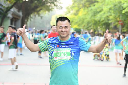 Nghệ sĩ Việt tham gia giải chạy VPBank Hanoi Marathon - ảnh 2