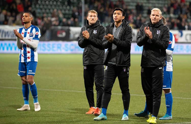 Heereveen đánh bại đội bóng đang dự Europa League