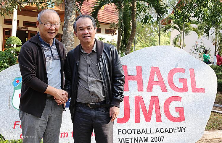 Bầu Đức: 'Park Hang-seo như được sinh ra cho bóng đá Việt Nam'