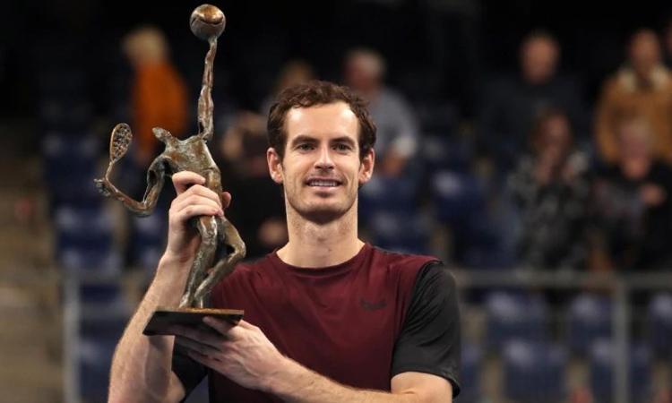 Chức vô địch ở Antwerp hứa hẹn sẽ tiếp thêm động lực để Murray hướng đến Davis Cup với phong độ tốt hơn nữa. Ảnh: AP.