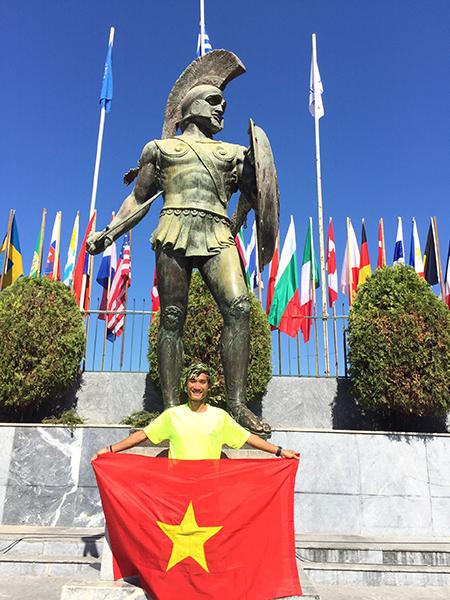 Quang Trần - dấu chân Việt trên đường chạy 246 km - ảnh 1