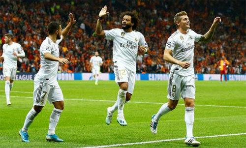 Real thoát hiểm bằng trận thắng Galatasaray - ảnh 3