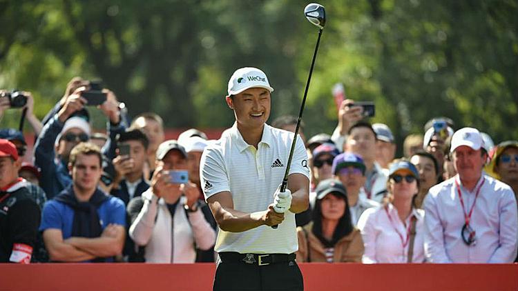 Li từng hai lần vô địch tại European Tour và ba lần vào top 10 các giải PGA Tour. Ảnh: AFP.