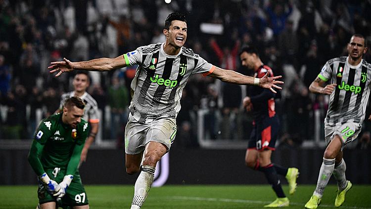 Ronaldo giúp Juventus thắng Genoa - ảnh 1