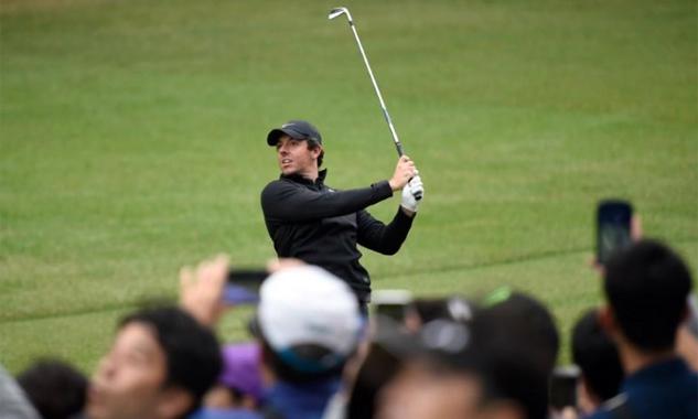 McIlroy là một trong những cái tên làm nên sức hút cho HSBC Champions tại Thượng Hải tuần này. Ảnh: Reuters.