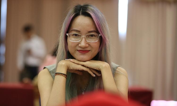 Kim Phụng lần đầu vô địch Đông Nam Á. Ảnh: Xuân Bình.