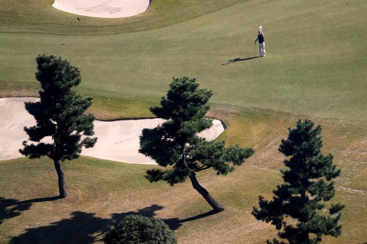 Sân Kasumigaseki được dự báo sẽ hứng chịu cái nóng khắc nghiệt vào cuối tháng 7 đầu tháng 8/2020 - thời điểm tổ chức môn golf tại đây. Ảnh: Reuters.