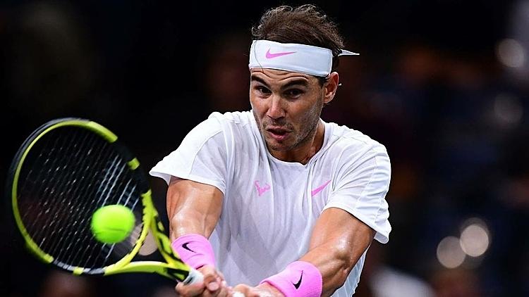 Nadal thắng tới 75% điểm giao bóng hai của Tsonga. Ảnh: AFP.